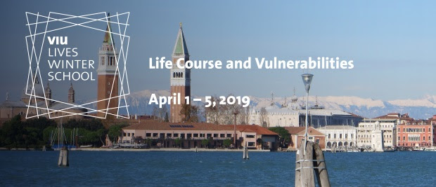 "VIU/LIVES Winter School – ""Life Course and Vulnerabilities"